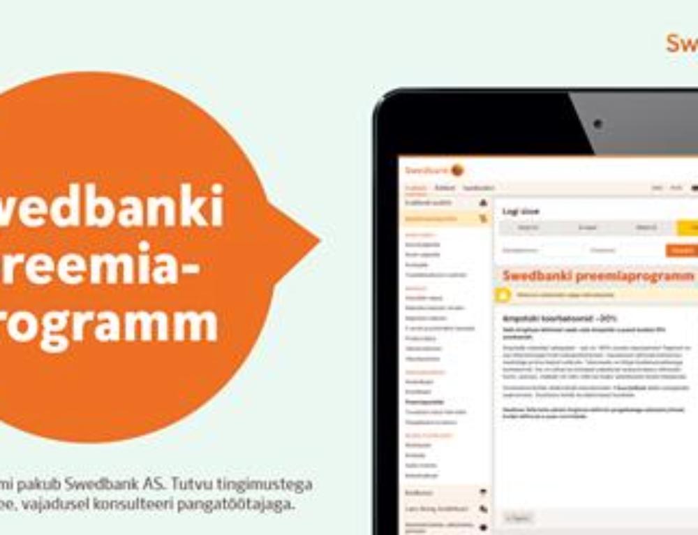 Ampstüki ja Swedbanki koostöö